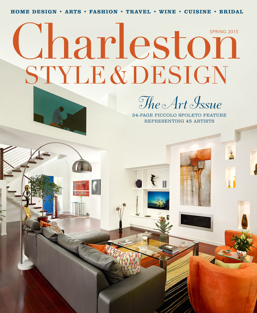 Holger obenaus 39 spring 2015 cover charleston style design for Charleston style and design