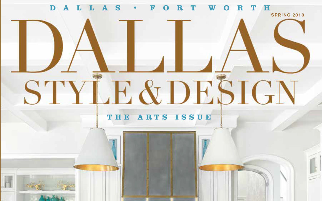 Holger Obenaus Shoots Cover of Dallas Style and Design Spring 2018