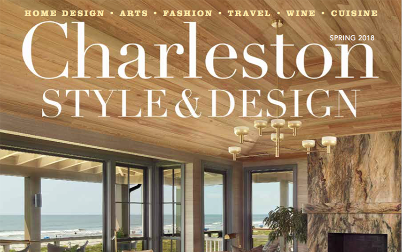 Holger Obenaus Shoot Cover of Charleston Style and Design Spring 2018