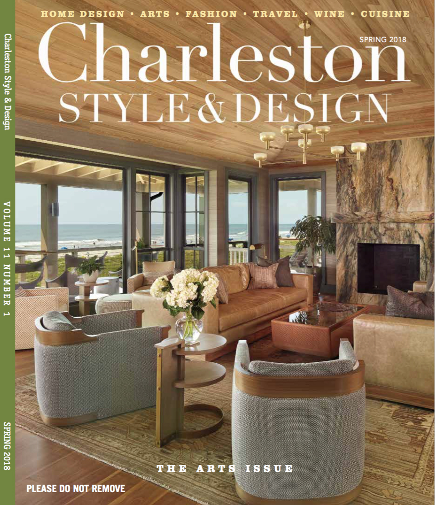 holger obenaus shoots cover of charleston style and design