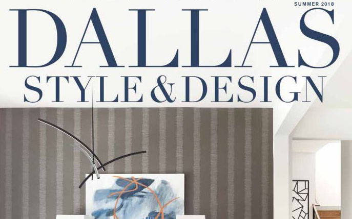 Holger Obenaus Shoot the Cover of Dallas Style and Design Summer 2018