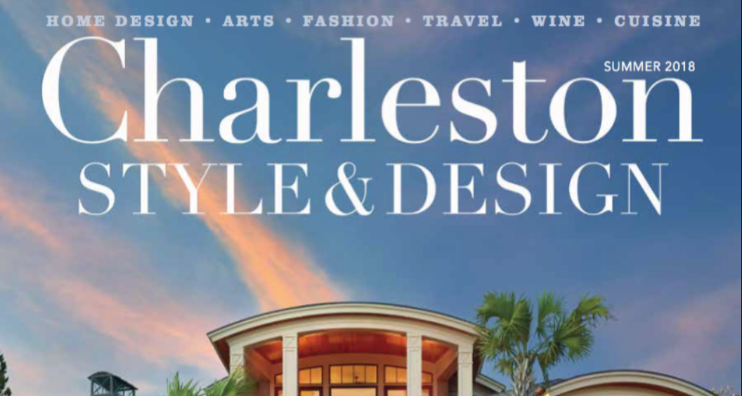 Holger Obenaus Shoot the Cover of Charleston Style and Design Summer 2018