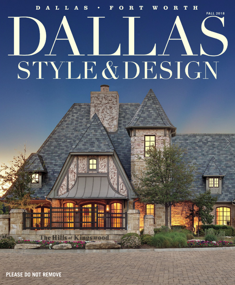 Cover Dallas Style and Design Holger Obenaus Photography