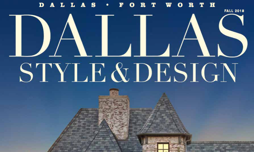 Holger Obenaus Shoot Cover of Dallas Style and Design Fall 2018