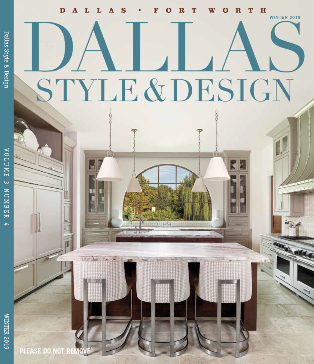 Holger Obenaus Shoots The Cover Of Dallas Style And Design Holger