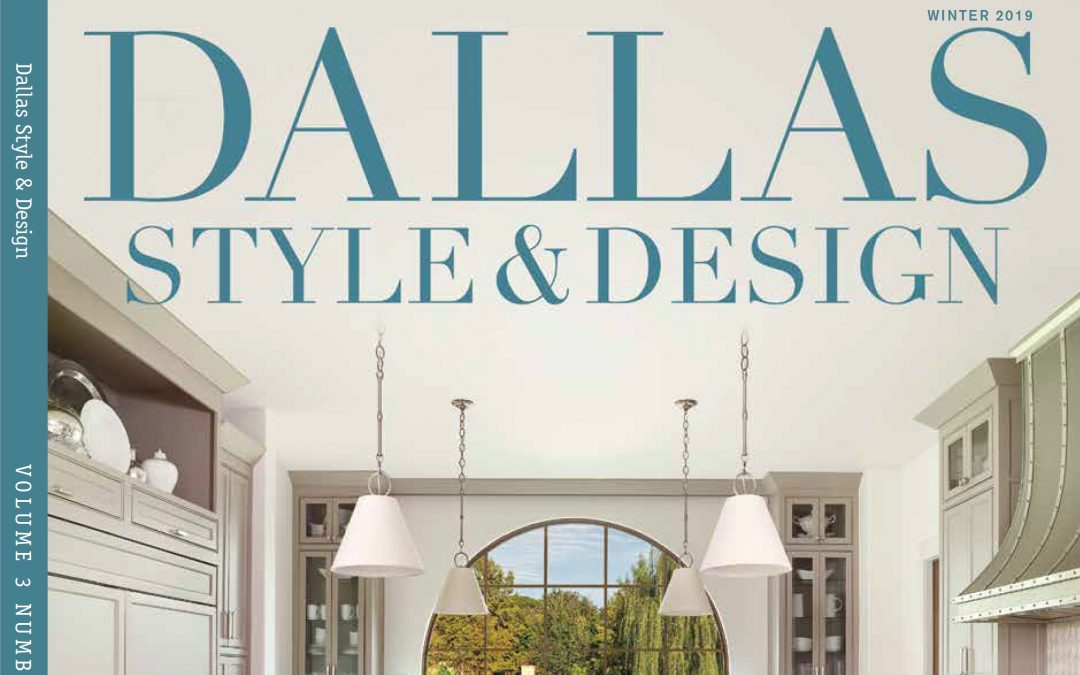 Holger Obenaus Shoots The Cover of Dallas Style and Design
