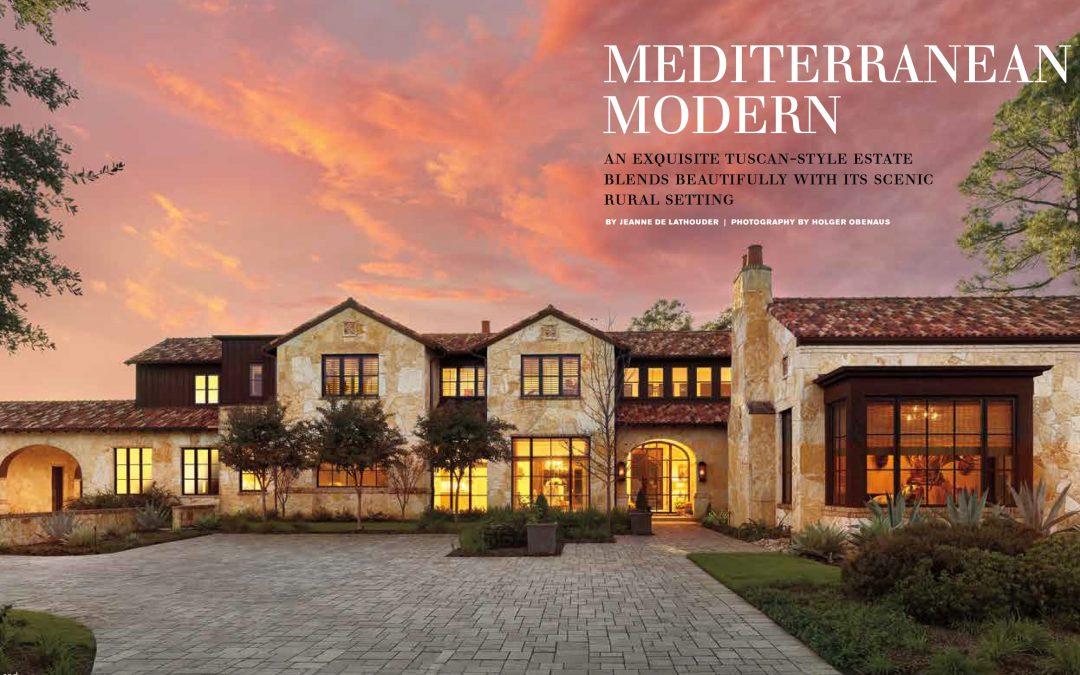 Holger Obenaus Captures A Mediterranean Modern Home