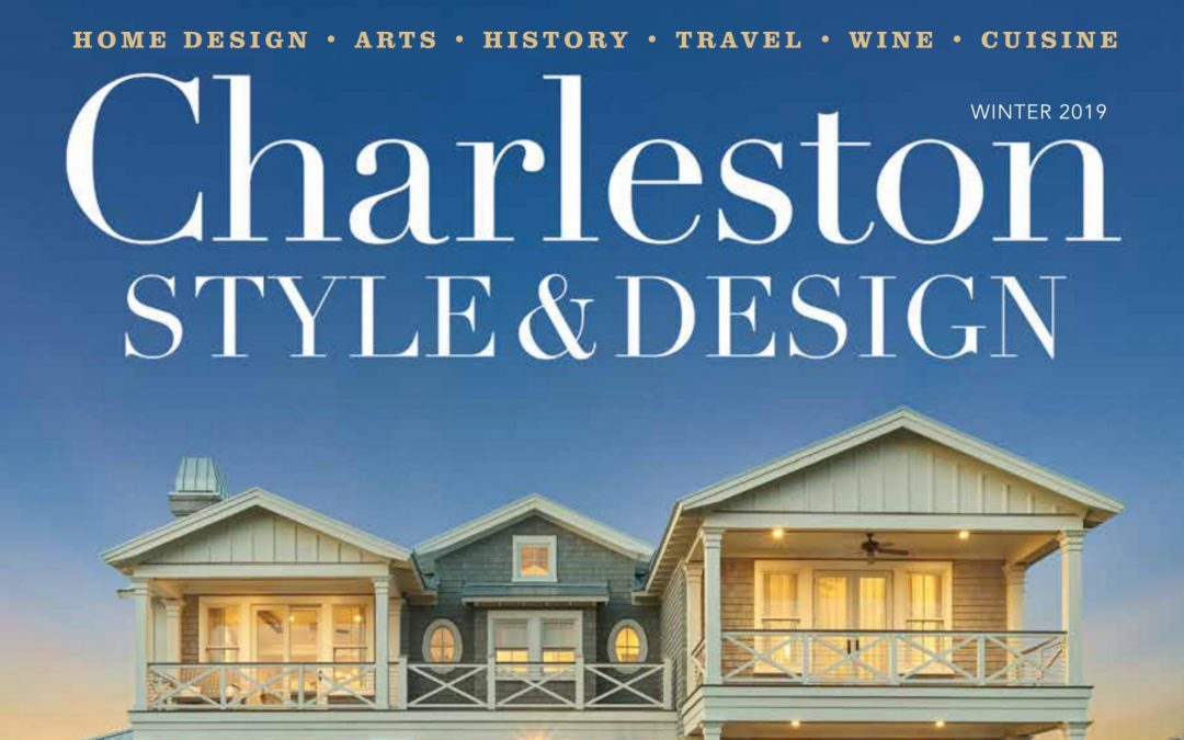 Holger Obenaus Shoots The Cover of Charleston Style and Design