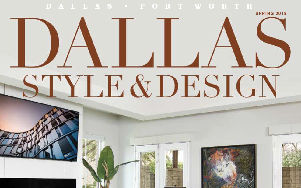 Holger Obenaus Shoots Cover of Dallas Style and Design