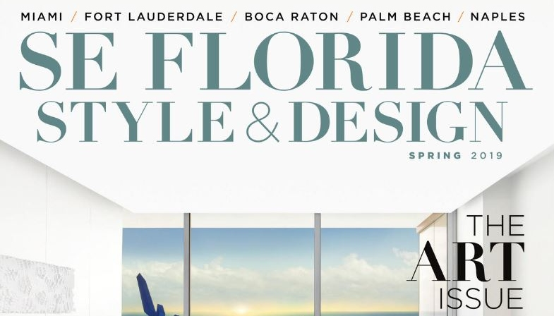Holger Shoots Cover of New SE Florida Style and Design