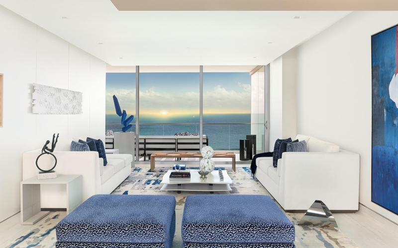 Interior Design Photography – Ocean Meets Sky