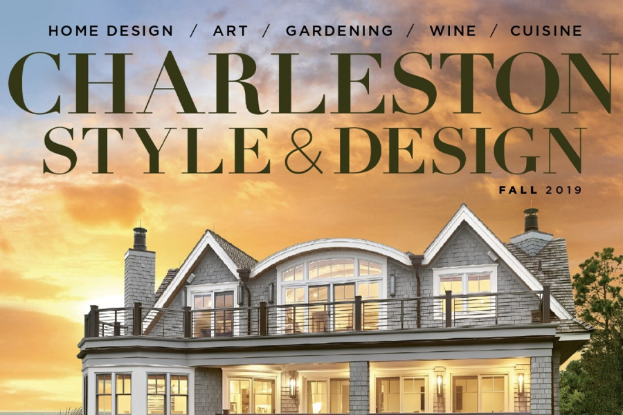 Holger Obenaus Shoots Cover of Charleston Style & Design